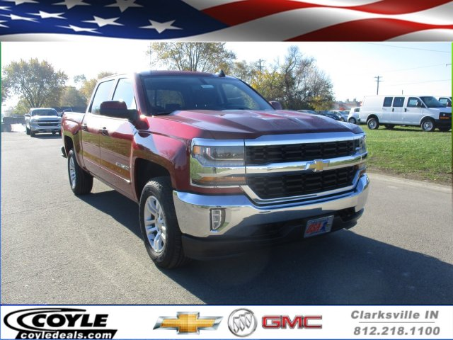 2018 Silverado 1500 Crew Cab 4x4 Pickup #18161 - photo 1