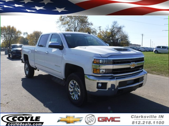 2018 Silverado 2500 Crew Cab 4x4 Pickup #18184 - photo 1