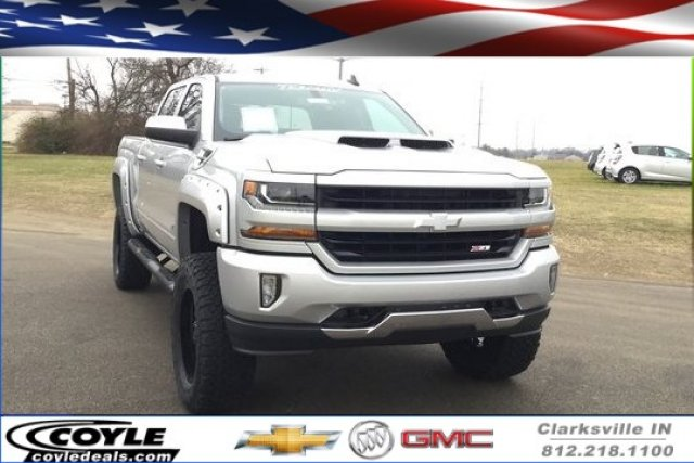 2018 Silverado 1500 Crew Cab 4x4,  Pickup #18266 - photo 1