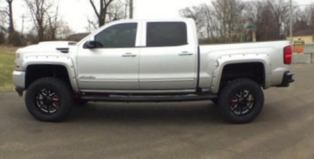2018 Silverado 1500 Crew Cab 4x4,  Pickup #18266 - photo 8