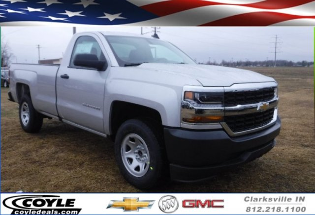2018 Silverado 1500 Regular Cab 4x2,  Pickup #18282 - photo 1