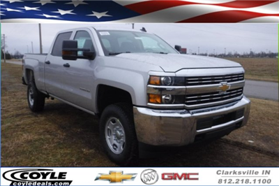 2018 Silverado 2500 Crew Cab 4x4 Pickup #18285 - photo 1