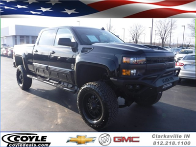 2018 Silverado 2500 Crew Cab 4x4,  Pickup #18362 - photo 1