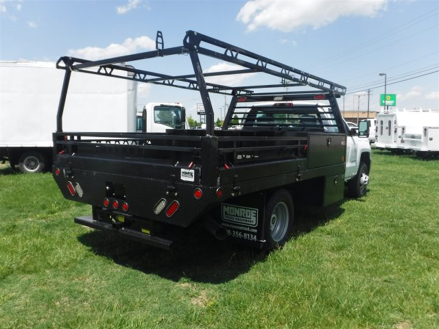 2018 Silverado 3500 Regular Cab DRW 4x4,  Monroe Contractor Body #18502 - photo 16