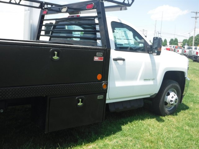 2018 Silverado 3500 Regular Cab DRW 4x4,  Monroe Contractor Body #18502 - photo 21