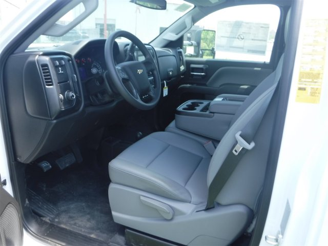 2018 Silverado 3500 Regular Cab DRW 4x4,  Monroe Contractor Body #18502 - photo 7