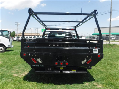 2018 Silverado 3500 Regular Cab DRW 4x4,  Monroe Pro Contractor Body #18502 - photo 19