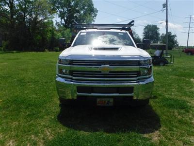 2018 Silverado 3500 Regular Cab DRW 4x4,  Monroe Pro Contractor Body #18502 - photo 4