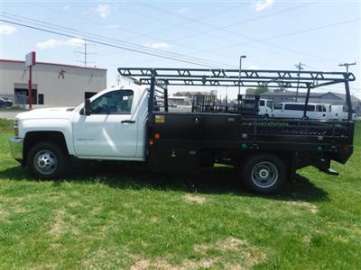 2018 Silverado 3500 Regular Cab DRW 4x4,  Monroe Pro Contractor Body #18502 - photo 6