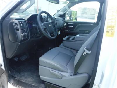 2018 Silverado 3500 Regular Cab DRW 4x4,  Monroe Pro Contractor Body #18502 - photo 8