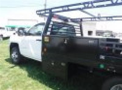 2018 Silverado 3500 Regular Cab DRW 4x4,  Monroe Pro Contractor Body #18502 - photo 25