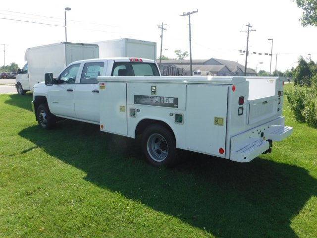 2018 Silverado 3500 Crew Cab DRW 4x2,  Reading Classic II Steel Service Body #18735 - photo 15