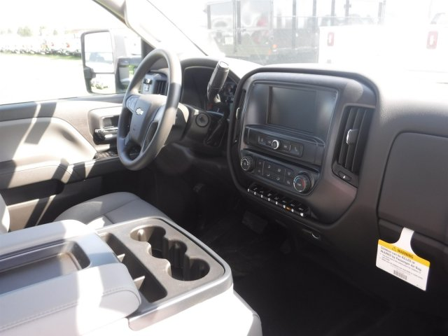 2018 Silverado 3500 Crew Cab DRW 4x2,  Reading Classic II Steel Service Body #18735 - photo 22