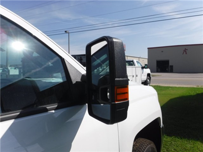 2018 Silverado 3500 Crew Cab DRW 4x2,  Reading Classic II Steel Service Body #18735 - photo 20