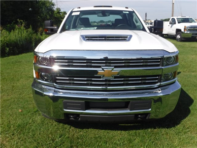 2018 Silverado 3500 Crew Cab DRW 4x2,  Reading Classic II Steel Service Body #18735 - photo 3