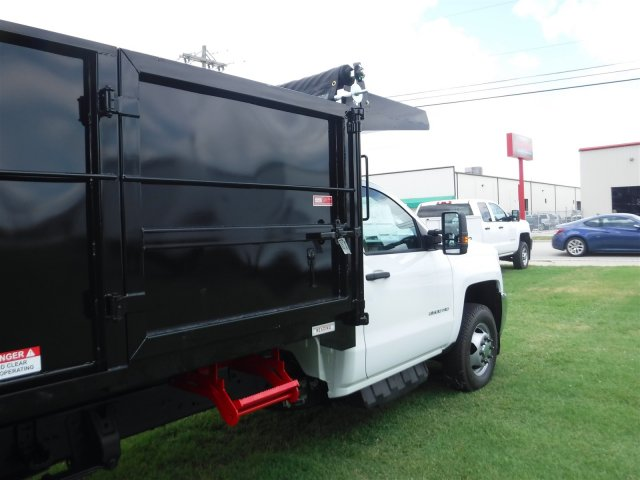 2018 Silverado 3500 Regular Cab DRW 4x4,  Reading Landscape Dump #18736 - photo 18