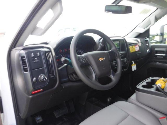 2018 Silverado 3500 Regular Cab DRW 4x4,  Reading Landscaper SL Landscape Dump #18736 - photo 3