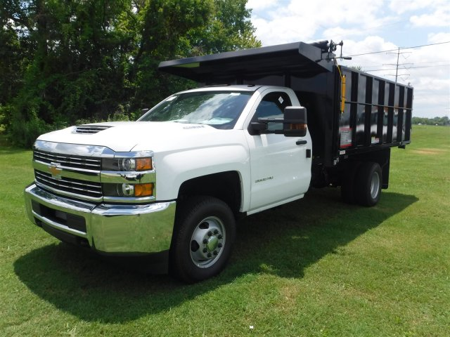 2018 Silverado 3500 Regular Cab DRW 4x4,  Reading Landscape Dump #18736 - photo 6
