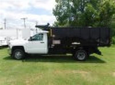 2018 Silverado 3500 Regular Cab DRW 4x4,  Reading Landscaper SL Landscape Dump #18736 - photo 26