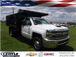 2018 Silverado 3500 Regular Cab DRW 4x4,  Reading Landscape Dump #18736 - photo 1
