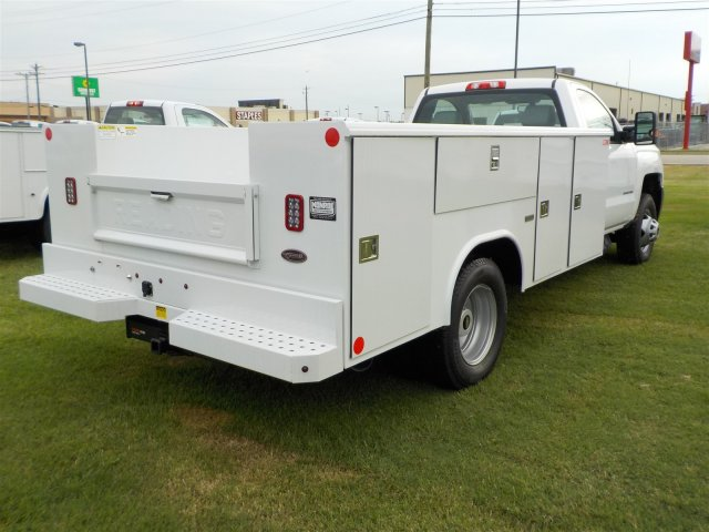 2018 Silverado 3500 Regular Cab DRW 4x2,  Reading Classic II Steel Service Body #18762 - photo 2