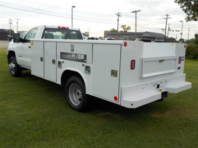 2018 Silverado 3500 Regular Cab DRW 4x2,  Reading Classic II Steel Service Body #18762 - photo 12