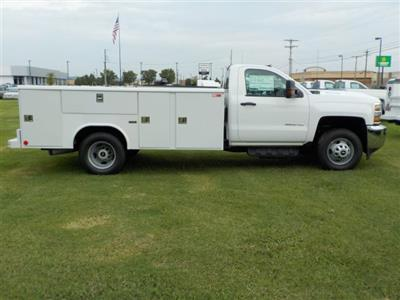 2018 Silverado 3500 Regular Cab DRW 4x2,  Reading Classic II Steel Service Body #18762 - photo 14