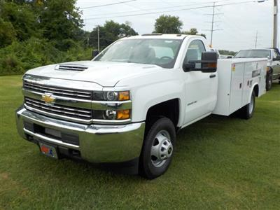 2018 Silverado 3500 Regular Cab DRW 4x2,  Reading Classic II Steel Service Body #18762 - photo 4