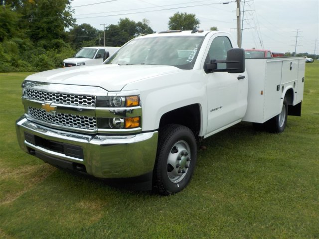 2019 Silverado 3500 Regular Cab DRW 4x4,  Knapheide Service Body #19056 - photo 6