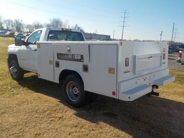 2019 Silverado 3500 Regular Cab DRW 4x4,  Reading Service Body #19238 - photo 2