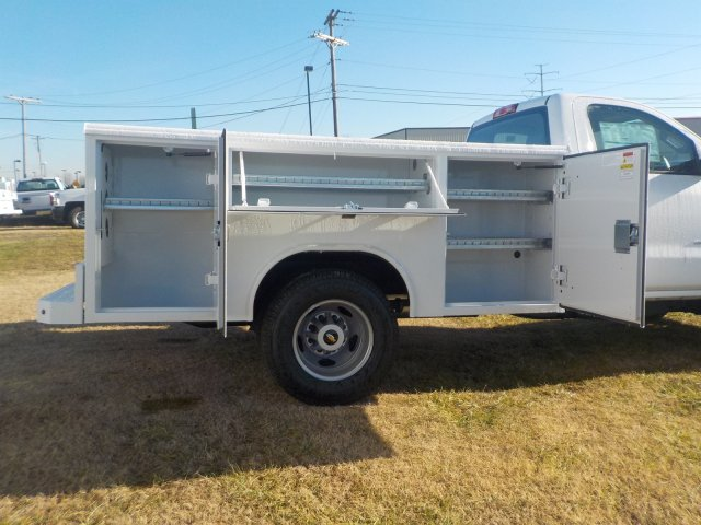 2019 Silverado 3500 Regular Cab DRW 4x4,  Reading Service Body #19238 - photo 22