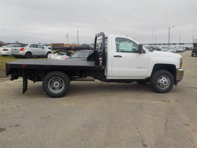 2019 Silverado 3500 Regular Cab DRW 4x4,  Reading Platform Body #19239 - photo 17