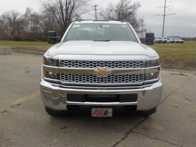 2019 Silverado 3500 Regular Cab DRW 4x4,  Reading Platform Body #19239 - photo 4