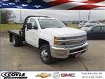 2019 Silverado 3500 Regular Cab DRW 4x4,  Reading Platform Body #19239 - photo 1