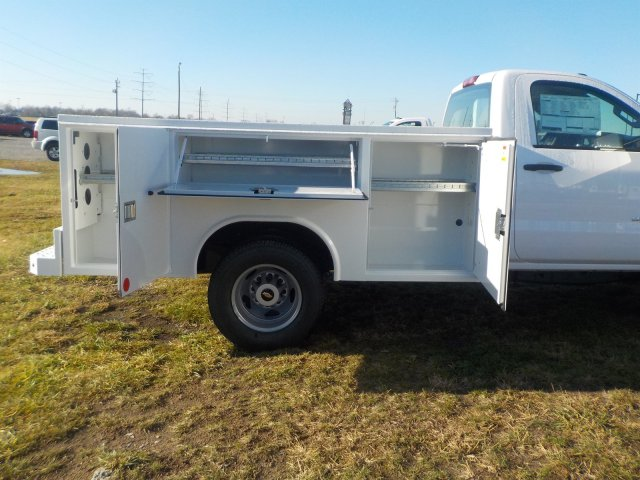 2019 Silverado 3500 Regular Cab DRW 4x4,  Reading Service Body #19270 - photo 20
