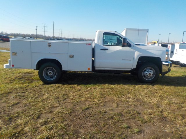 2019 Silverado 3500 Regular Cab DRW 4x4,  Reading Service Body #19270 - photo 22