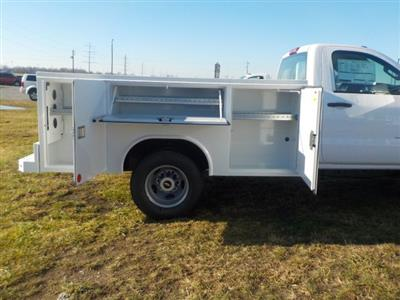 2019 Silverado 3500 Regular Cab DRW 4x4,  Reading Classic II Steel Service Body #19270 - photo 20