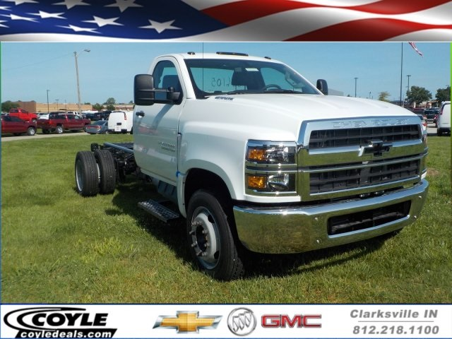 2019 Silverado Medium Duty Regular Cab DRW 4x2,  Cab Chassis #19925 - photo 1