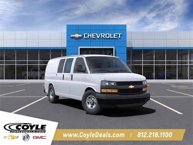 2021 Chevrolet Express 2500 4x2, Empty Cargo Van #21298 - photo 1