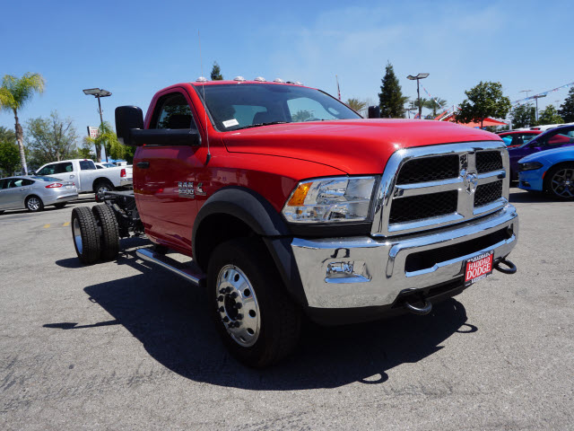 2016 Ram 5500 Regular Cab DRW 4x4, Cab Chassis #B57825 - photo 4