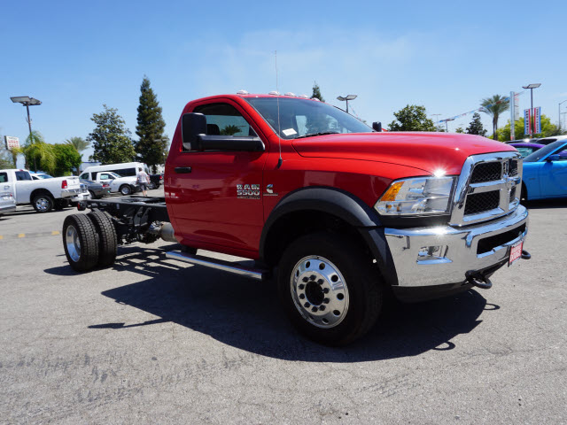 2016 Ram 5500 Regular Cab DRW 4x4, Cab Chassis #B57825 - photo 5