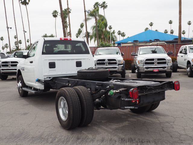 2016 Ram 3500 Regular Cab DRW 4x4 Cab Chassis #B58267 - photo 2