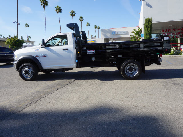 2016 Ram 5500 Regular Cab DRW 4x4, Harbor Dump Body #B58325 - photo 11