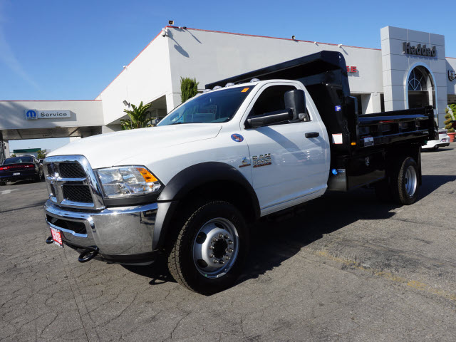 2016 Ram 5500 Regular Cab DRW 4x4, Harbor Dump Body #B58325 - photo 12