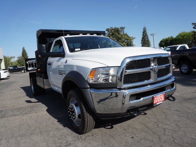 2016 Ram 5500 Regular Cab DRW 4x4, Harbor Dump Body #B58325 - photo 4