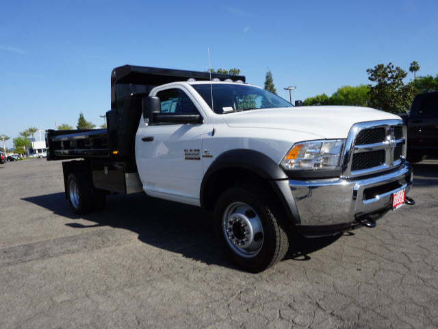 2016 Ram 5500 Regular Cab DRW 4x4, Harbor Dump Body #B58325 - photo 5