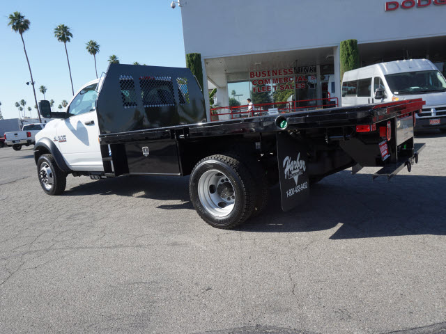 2016 Ram 4500 Regular Cab DRW 4x4, Harbor Platform Body #B58493 - photo 10
