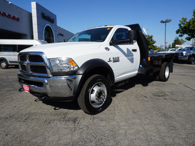 2016 Ram 4500 Regular Cab DRW 4x4, Harbor Platform Body #B58493 - photo 12
