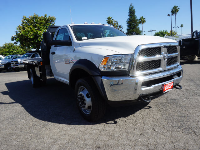 2016 Ram 4500 Regular Cab DRW 4x4, Harbor Platform Body #B58493 - photo 4