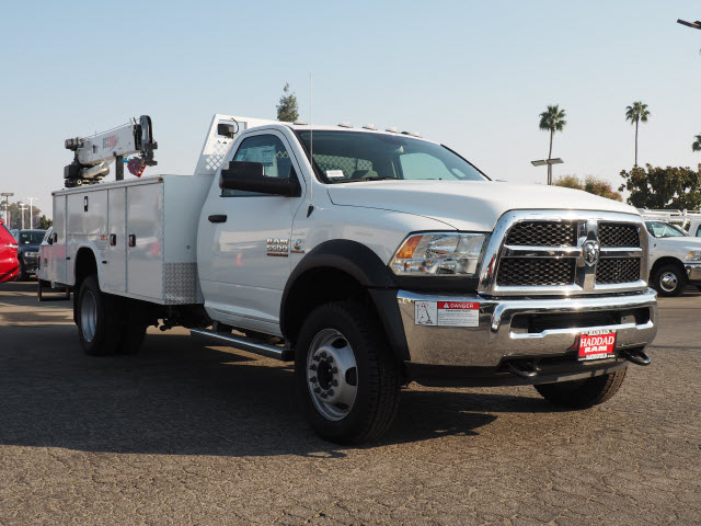 2016 Ram 5500 Regular Cab DRW 4x4, Knapheide Mechanics Body #B58706 - photo 4